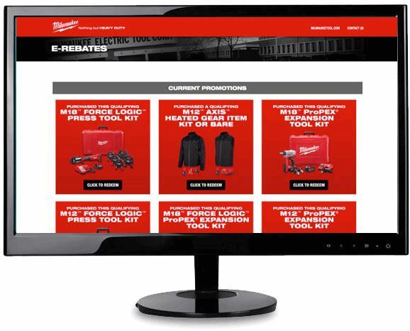 E-Rebates | Milwaukee Tool