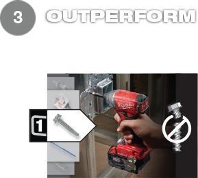 Outperform with unmatched control & speed for the most consistent results.