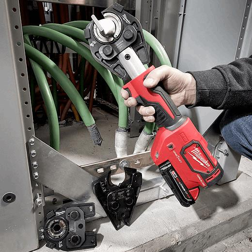 M18 FORCE LOGIC Hydraulic Crimpers | Milwaukee Tool