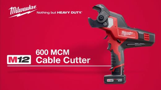 Details about  /Milwaukee 2472-20 M12 600 MCM Cable Cutter factory refurbished