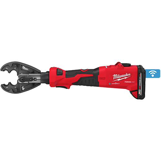 M18™ FORCE LOGIC™ 6T Linear Utility Crimper Kit w/ BG-D3 Jaw