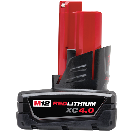 M12™ REDLITHIUM™ XC 4.0 Extended Capacity Battery Pack