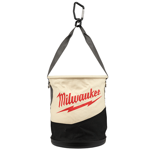 Canvas Utility Bucket w/ Pockets