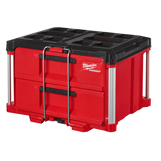 MILW 48-22-8442 PACKOUT 2 DRAWER TOOL BOX