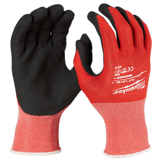 Cut Level 1 Nitrile Dipped Gloves
