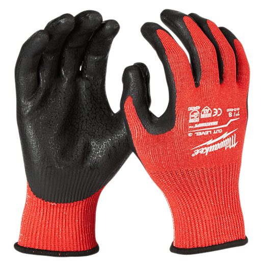 Cut Level 3 Nitrile Dipped Gloves