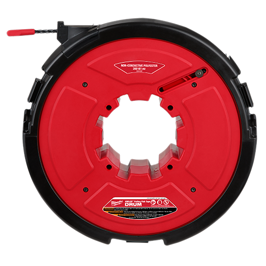 M18 FUEL™ ANGLER™ 200' Non-Conductive Polyester Pulling Fish Tape Drum