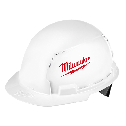 Front Brim Hard Hats With Bolt Accessories Milwaukee Tool