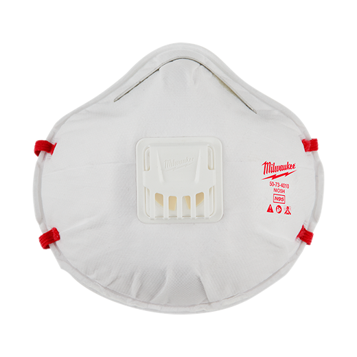 Milwaukee N95 Valved Masks Tool Respirator