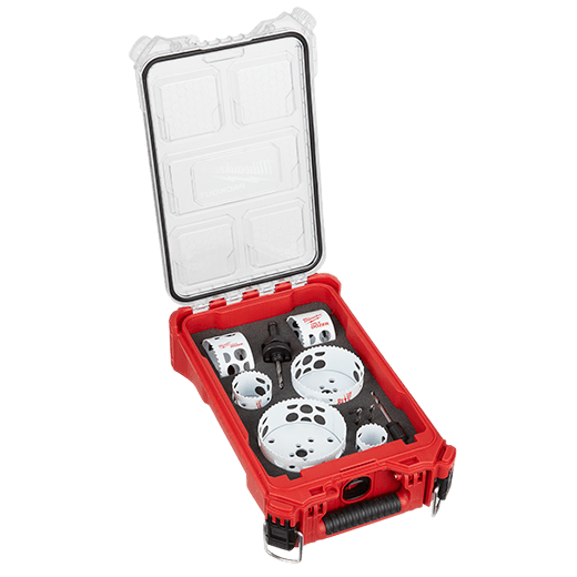 10 Pc. Hole Saw Kit w/PACKOUT