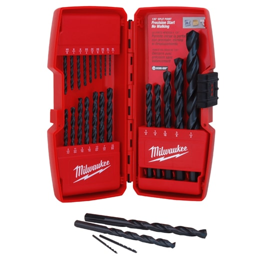 THUNDERBOLT® Black Oxide Drill Bit Set - 21PC