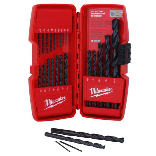 THUNDERBOLT Black Oxide Drill Bit Set - 21PC | Milwaukee