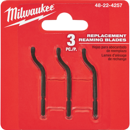 Milwaukee 48-22-4257 3pk Replacement Reaming Blades New