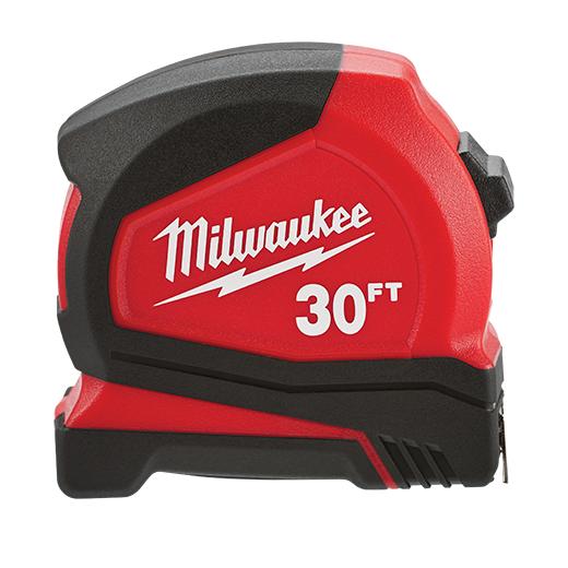 30 Ft Compact Tape Measure Milwaukee Tool