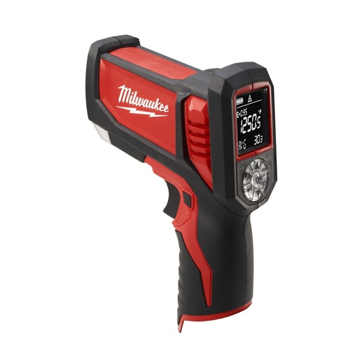 Laser TEMP-GUN™ M12™ Cordless Lithium-Ion Thermometer for HVAC/R