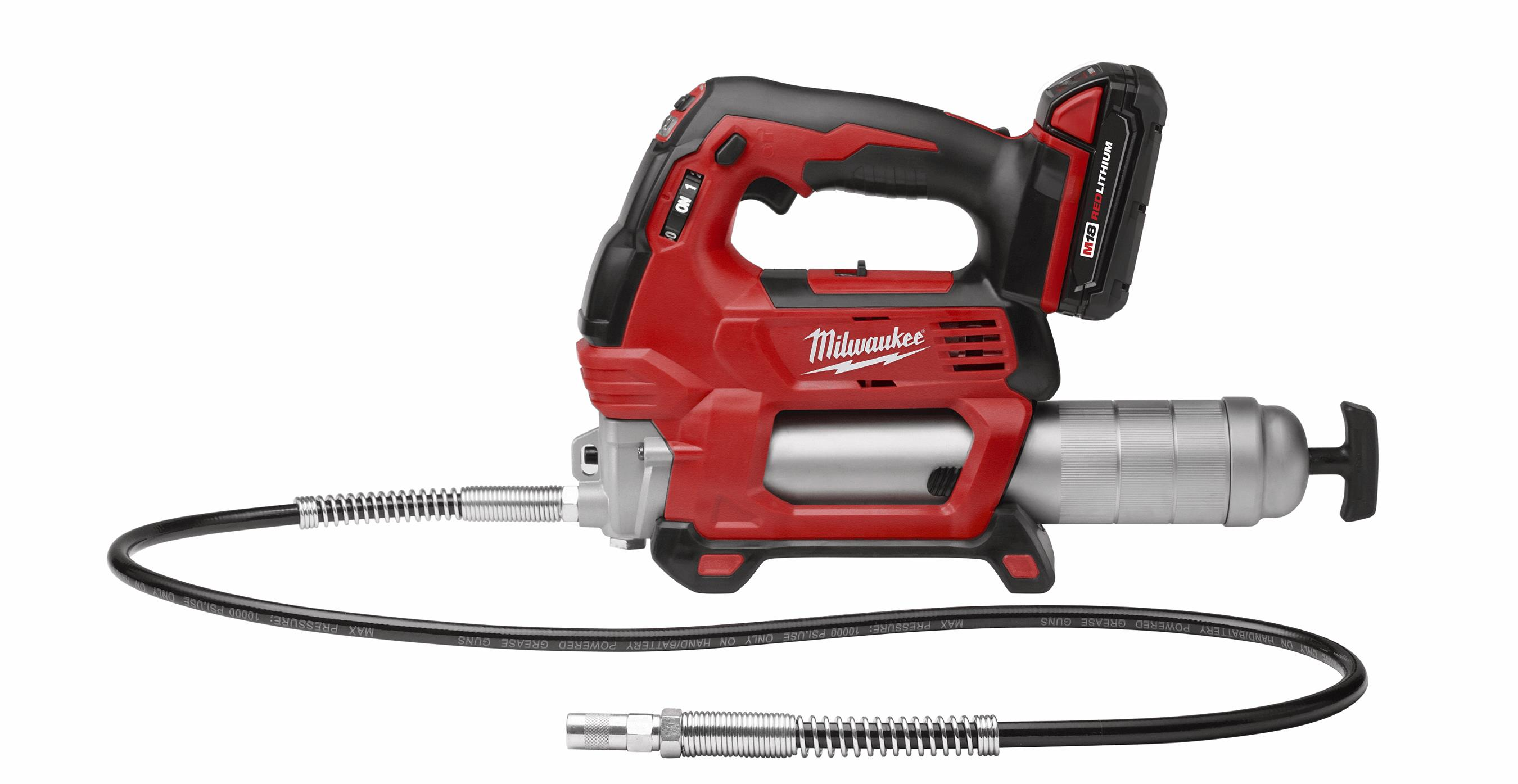 M18™ Cordless 2-Speed Grease Gun Kit