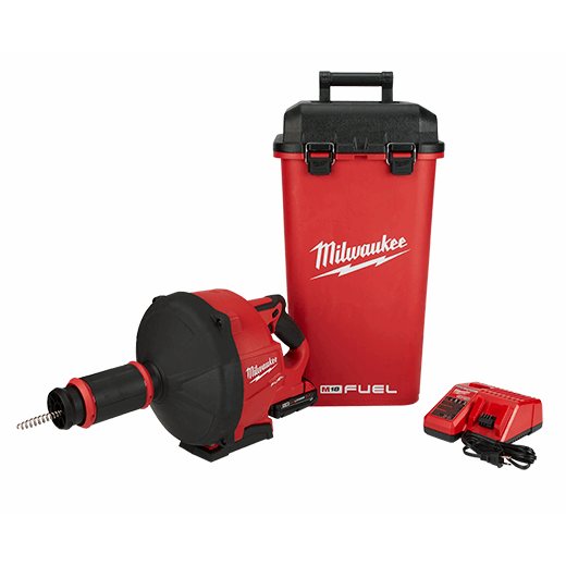 MILWAUKEE 2772A-21 M18 (FUEL) DRAIN SNAKE AUGER W/CABLE-DRIVE (KIT-A) 5/16
