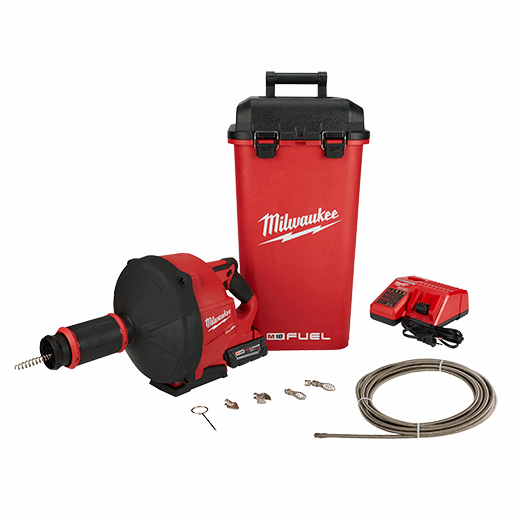 M18 FUEL™ Drain Snake w/ CABLE DRIVE™ Kit