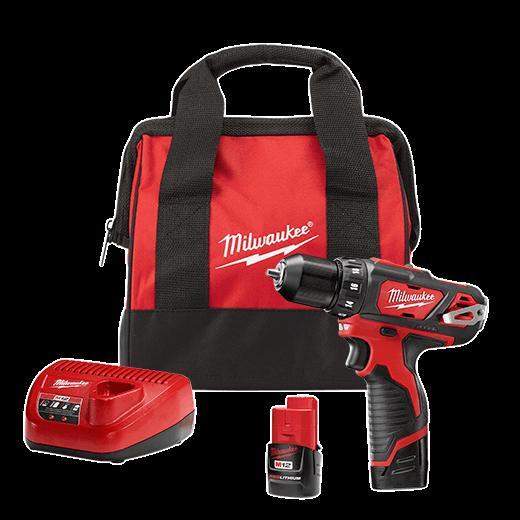"M12 3/8"" Drill/Driver Kit | Milwaukee Tool"
