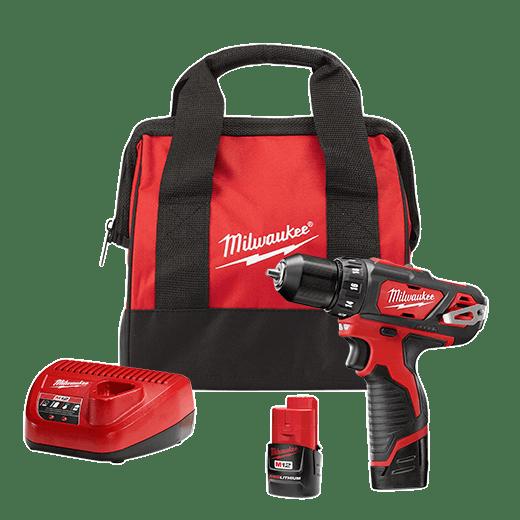 M12 3 8 Drill Driver Kit Milwaukee Tool