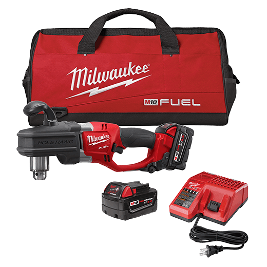 Milwaukee Right Angle Drill 1//2 in Keyed Chuck 28-V Li-Ion Cordless Tool-Only