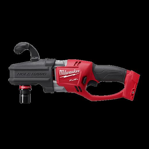 m18 fuel hole hawg right angle drill w quik lok tool only rh milwaukeetool com