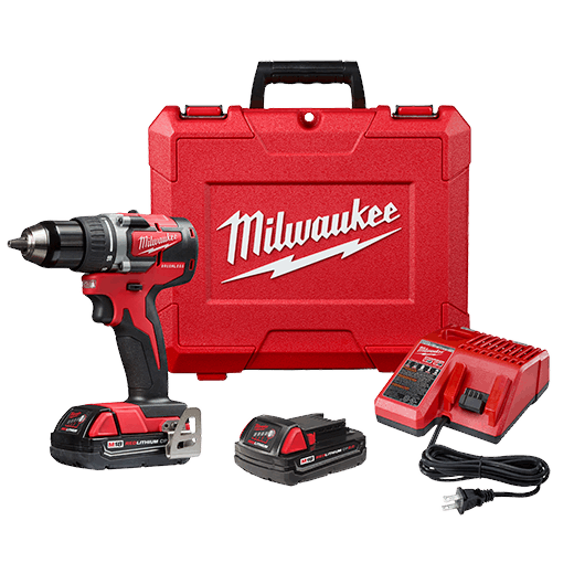 "M18 Compact Brushless 1/2"" Drill Driver Kit"