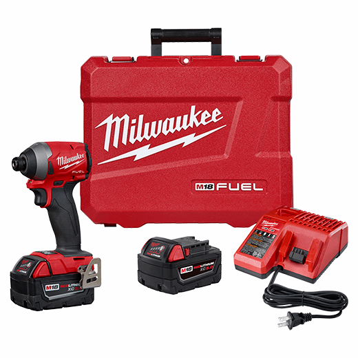 "M18 FUEL™ 1/4"" Hex Impact Driver Kit"