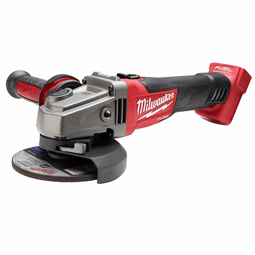 """Milwaukee M18 2781-20 4-1//2/"""" // 5/"""" Grinder Tool Only NEW Slide Switch Lock-On"""