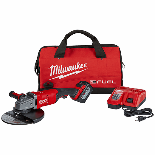 Terrific M18 Fuel 7 9 Lag Grinder Kit With Battery Bag Milwaukee Pdpeps Interior Chair Design Pdpepsorg