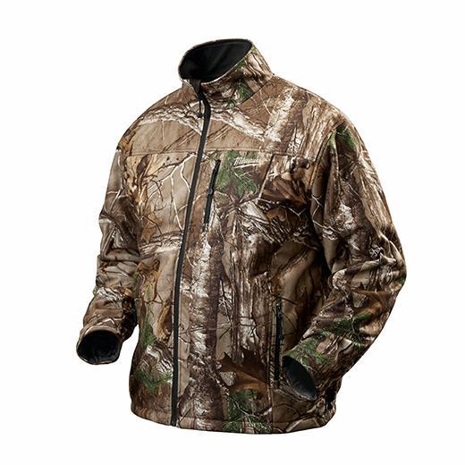 m12™ cordless camo heated jacket