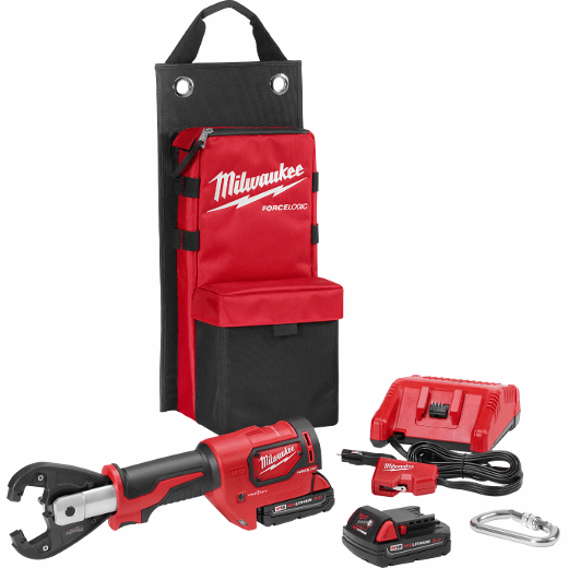 M18™ FORCE LOGIC™ 6T Utility Crimper Kit with Kearney Grooves