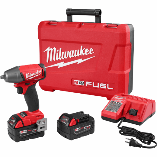 """m18 fuel™ 3/8"""" compact impact wrench w/ friction ring kit (2754-22)"""