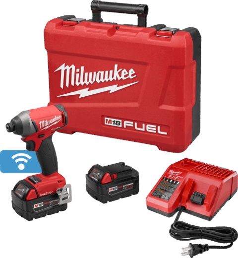 "M18 FUEL™ with ONE-KEY™ 1/4"" Hex Impact Driver Kit"