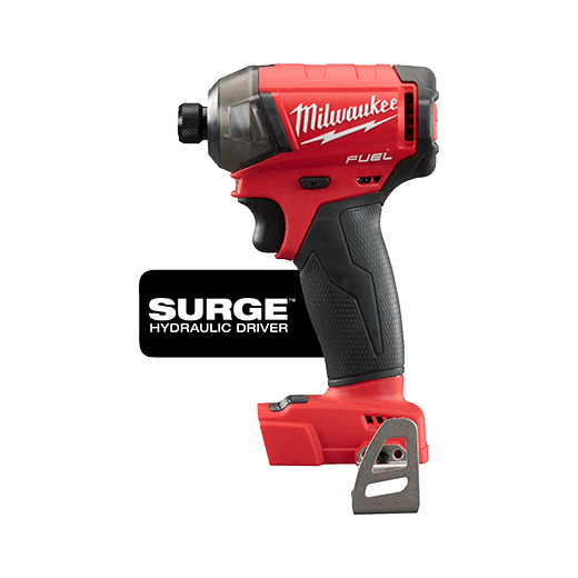 Milwaukee® 2760-20 M18 FUEL™ SURGE™ Cordless Impact Driver, 1/4 in Hex/Straight Drive, 4000 bpm, 450 in-lb Torque, 18 VDC