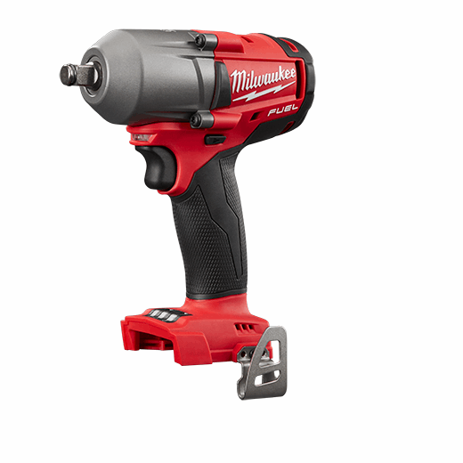 Milwaukee® 2861-20 M18 FUEL™ Mid Torque Cordless Impact Wrench With Friction Ring, 1/2 in Square/Straight Drive, 3000 bpm, 600 ft-lb Torque, 18 VDC