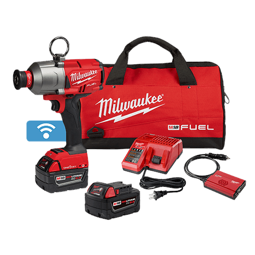 "M18 FUEL™ 7/16"" Hex Utility High Torque Impact Wrench w/ ONE-KEY™ Kit"