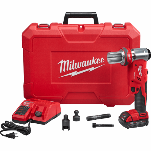 Milwaukee spirale pour Batterie-Nettoyants 6 mm x 7,6 m avec articulation-keulenkopf