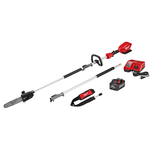 Portable Cordless Limb Pruner Pole Saw Battery Powered Long Tree Branch Trimmer