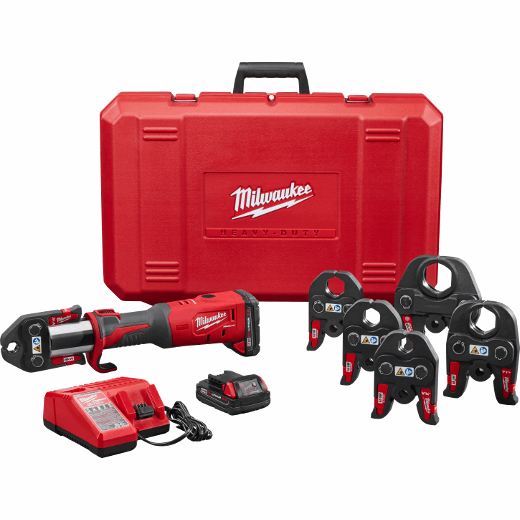 """M18™ FORCE LOGIC™ Press Tool Kit with ½"""" – 2"""" Jaws"""