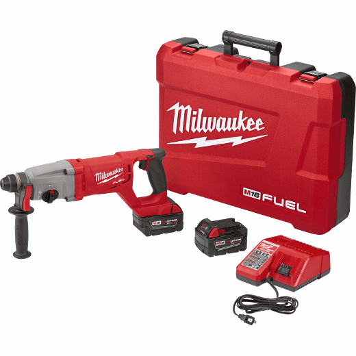 Tool Only SDS Plus D-handle Rotary Hammer Milwaukee 2713-20 M18 Fuel 1 In