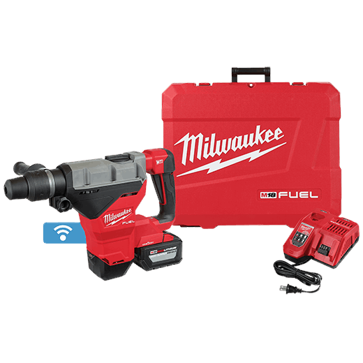 "M18 FUEL 1-3/4"" SDS MAX Rotary Hammer Kit w/ 12.0 Battery"