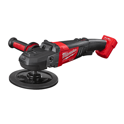 Milwaukee® 2738-20 M18™ FUEL™ Cordless Polisher, 7 in Dia Pad, 18 VDC, Lithium-Ion Battery, Bare Tool