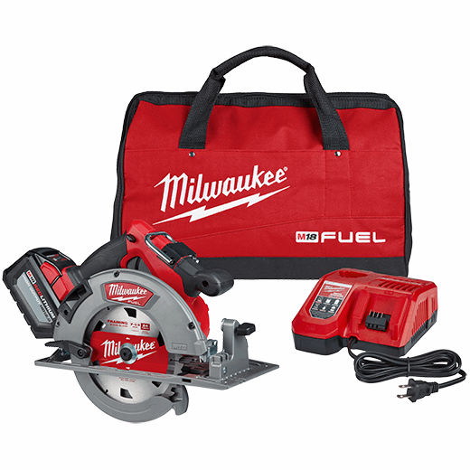 M18 Fuel 7 1 4 Circular Saw Kit With Battery Charger Milwaukee Tool