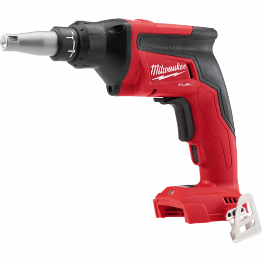 Milwaukee® 2866-20 M18™ FUEL™ Drywall Screwgun, 1/4 in Chuck, 124 in-lb, 18 VDC, Lithium-Ion Battery, Glass Filled Nylon Housing