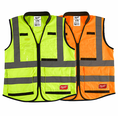 Class 2 High Visibility Performance Safety Vests