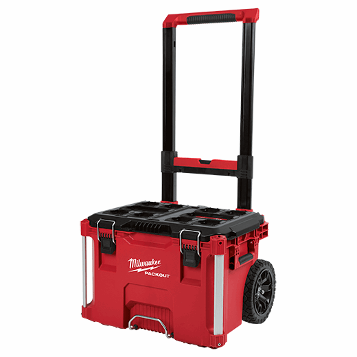 Portable Toolbox On Wheels Tool Chest Rolling Storage Cart Foldable Transport