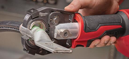 force logic m18 hydraulic crimpers and cutters | milwaukee tool